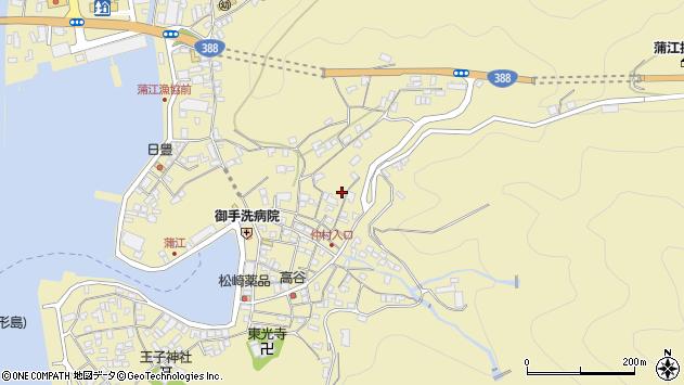 大分県佐伯市蒲江大字蒲江浦2055周辺の地図