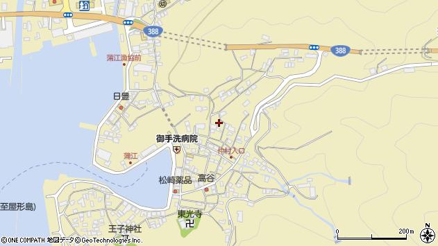 大分県佐伯市蒲江大字蒲江浦1932周辺の地図