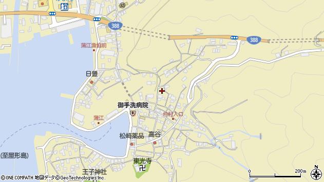 大分県佐伯市蒲江大字蒲江浦1926周辺の地図