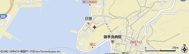大分県佐伯市蒲江大字蒲江浦3359周辺の地図