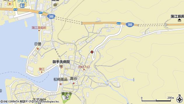 大分県佐伯市蒲江大字蒲江浦2040周辺の地図