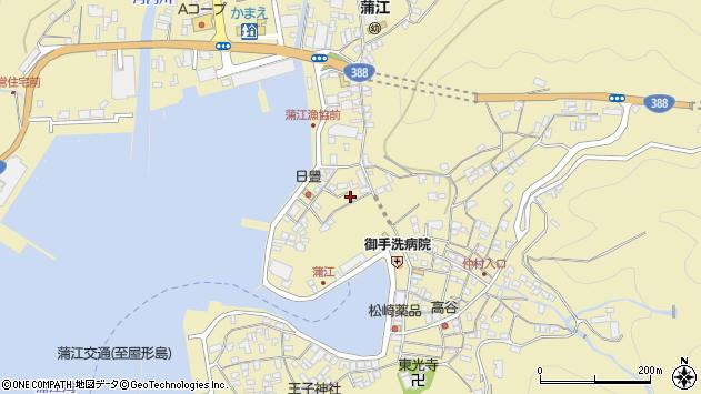大分県佐伯市蒲江大字蒲江浦3369周辺の地図