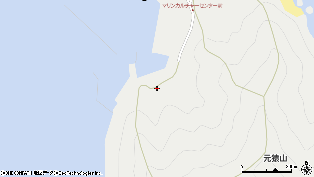 大分県佐伯市蒲江大字竹野浦河内1823周辺の地図