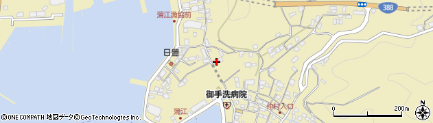 大分県佐伯市蒲江大字蒲江浦3351周辺の地図