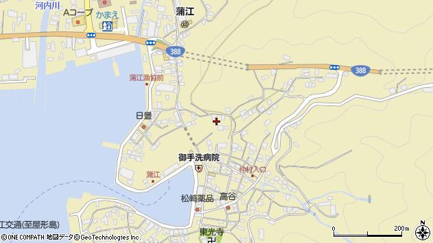 大分県佐伯市蒲江大字蒲江浦3336周辺の地図