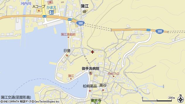 大分県佐伯市蒲江大字蒲江浦3344周辺の地図