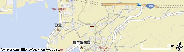 大分県佐伯市蒲江大字蒲江浦3331周辺の地図