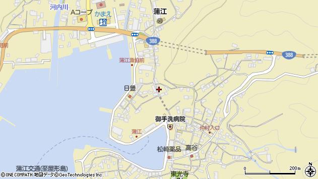 大分県佐伯市蒲江大字蒲江浦3538周辺の地図