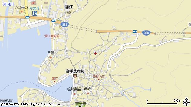 大分県佐伯市蒲江大字蒲江浦1909周辺の地図