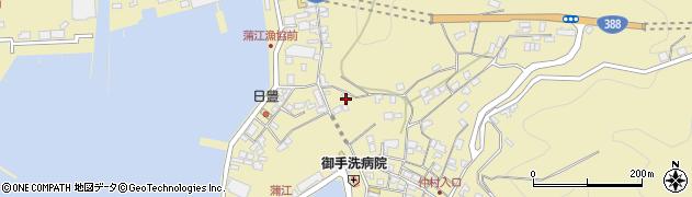 大分県佐伯市蒲江大字蒲江浦3345周辺の地図