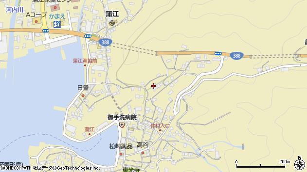大分県佐伯市蒲江大字蒲江浦1876周辺の地図
