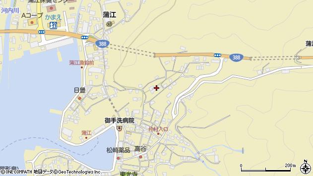 大分県佐伯市蒲江大字蒲江浦1852周辺の地図