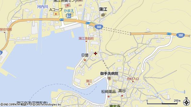 大分県佐伯市蒲江大字蒲江浦3379周辺の地図