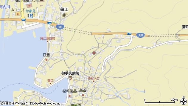 大分県佐伯市蒲江大字蒲江浦1837周辺の地図