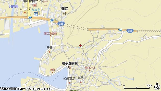 大分県佐伯市蒲江大字蒲江浦3325周辺の地図