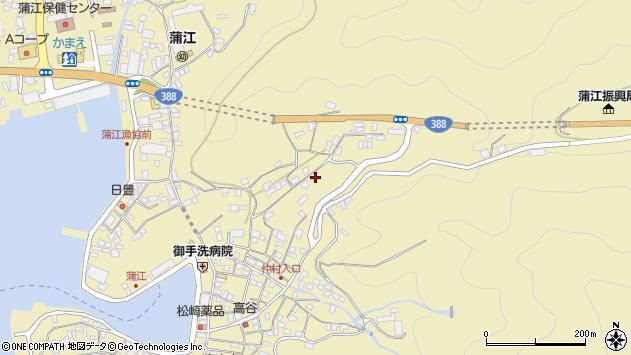 大分県佐伯市蒲江大字蒲江浦1984周辺の地図