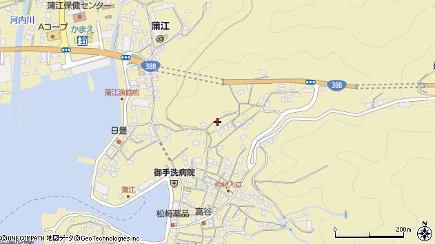 大分県佐伯市蒲江大字蒲江浦1870周辺の地図