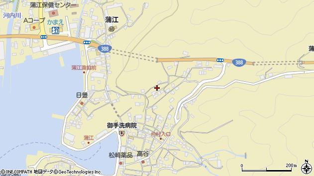大分県佐伯市蒲江大字蒲江浦1862周辺の地図