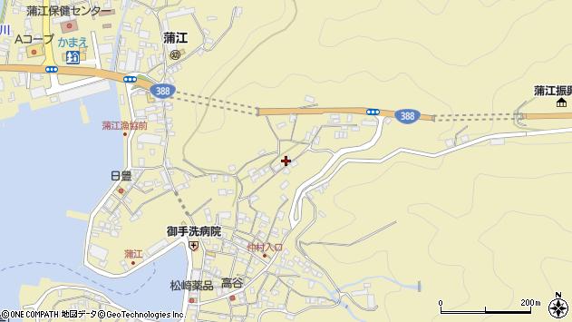 大分県佐伯市蒲江大字蒲江浦1799周辺の地図