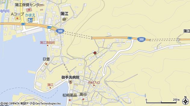 大分県佐伯市蒲江大字蒲江浦1825周辺の地図