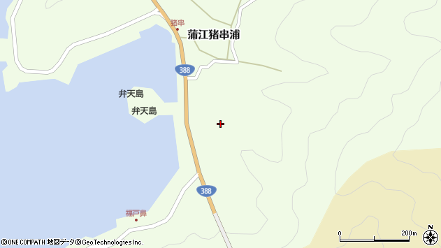 大分県佐伯市蒲江大字猪串浦315周辺の地図