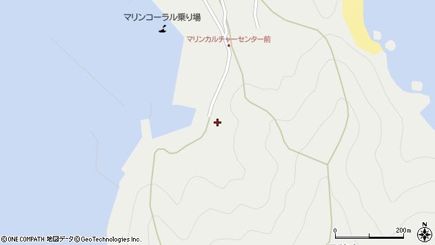 大分県佐伯市蒲江大字竹野浦河内1832周辺の地図