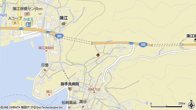 大分県佐伯市蒲江大字蒲江浦3298周辺の地図