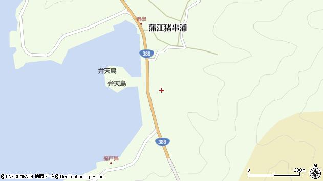 大分県佐伯市蒲江大字猪串浦312周辺の地図
