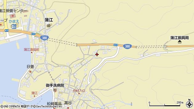 大分県佐伯市蒲江大字蒲江浦1653周辺の地図