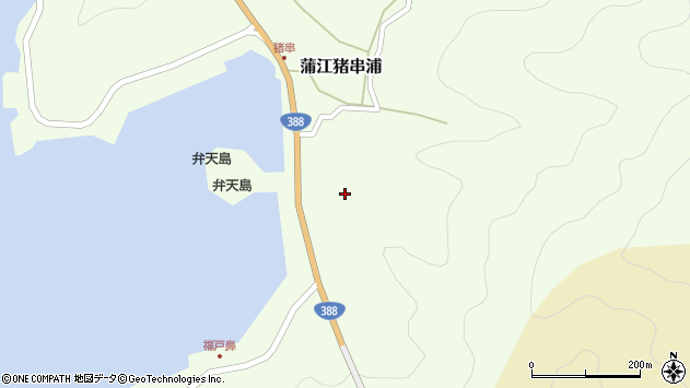 大分県佐伯市蒲江大字猪串浦379周辺の地図