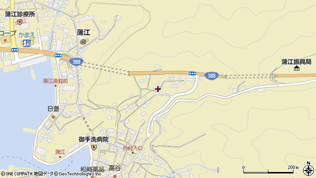 大分県佐伯市蒲江大字蒲江浦1771周辺の地図