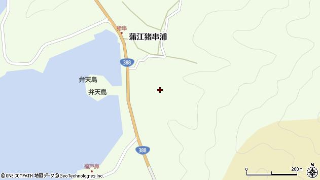大分県佐伯市蒲江大字猪串浦368周辺の地図