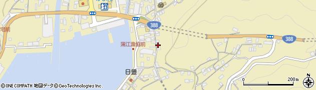 大分県佐伯市蒲江大字蒲江浦3389周辺の地図