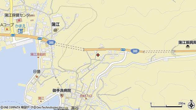 大分県佐伯市蒲江大字蒲江浦1762周辺の地図
