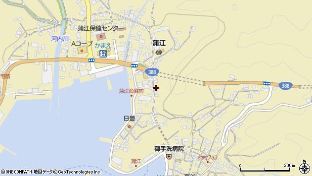 大分県佐伯市蒲江大字蒲江浦3392周辺の地図