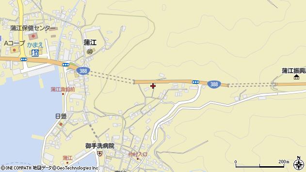 大分県佐伯市蒲江大字蒲江浦1739周辺の地図