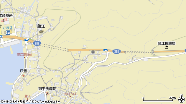 大分県佐伯市蒲江大字蒲江浦1689周辺の地図