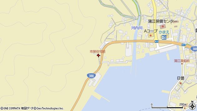 大分県佐伯市蒲江大字蒲江浦4498周辺の地図