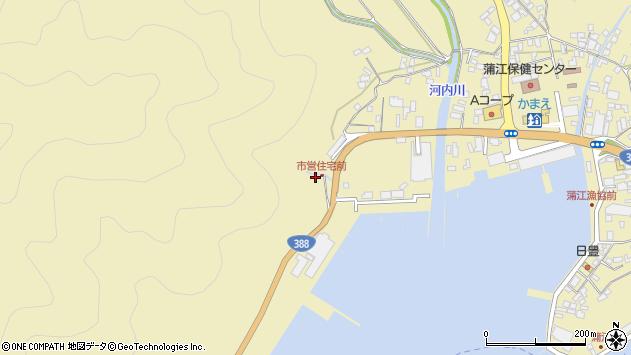 大分県佐伯市蒲江大字蒲江浦4499周辺の地図