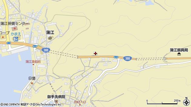 大分県佐伯市蒲江大字蒲江浦1698周辺の地図