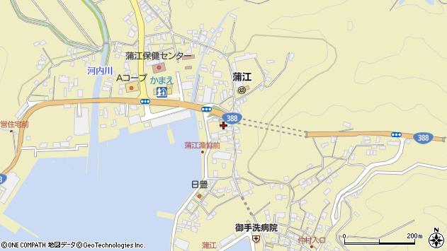 大分県佐伯市蒲江大字蒲江浦3404周辺の地図