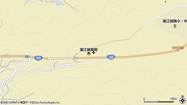 大分県佐伯市蒲江大字蒲江浦385周辺の地図