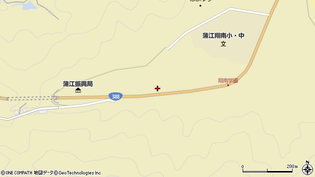 大分県佐伯市蒲江大字蒲江浦541周辺の地図