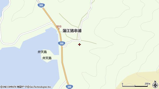 大分県佐伯市蒲江大字猪串浦434周辺の地図