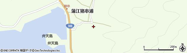 大分県佐伯市蒲江大字猪串浦435周辺の地図