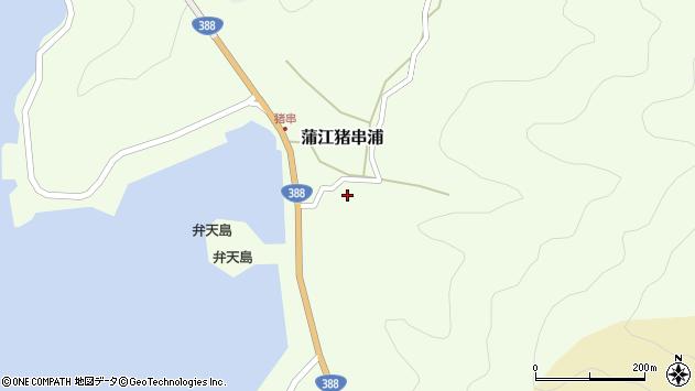 大分県佐伯市蒲江大字猪串浦396周辺の地図