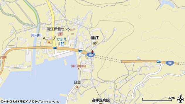 大分県佐伯市蒲江大字蒲江浦3414周辺の地図