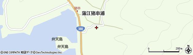 大分県佐伯市蒲江大字猪串浦400周辺の地図