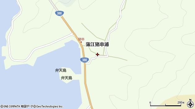 大分県佐伯市蒲江大字猪串浦429周辺の地図