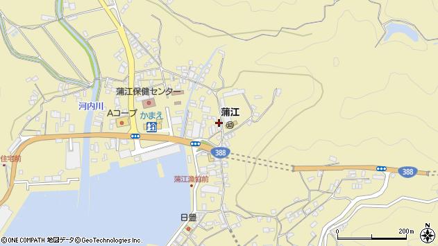 大分県佐伯市蒲江大字蒲江浦5094周辺の地図